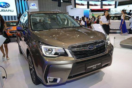 Subaru Viet Nam tai VIMS 2016: Dam dac phong cach the thao - Anh 7