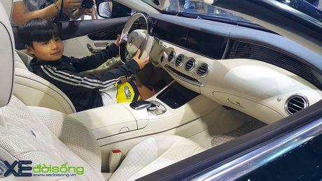Ngam dan xe the thao 2 cua day 'sexy' cua Mercedes-Benz tai VIMS 2016 - Anh 2