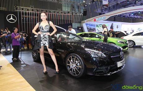 Ngam dan xe the thao 2 cua day 'sexy' cua Mercedes-Benz tai VIMS 2016 - Anh 4