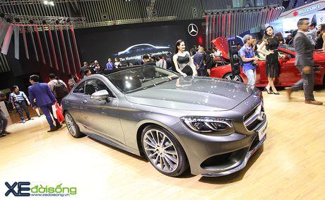Ngam dan xe the thao 2 cua day 'sexy' cua Mercedes-Benz tai VIMS 2016 - Anh 7