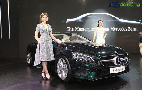 Ngam dan xe the thao 2 cua day 'sexy' cua Mercedes-Benz tai VIMS 2016 - Anh 9