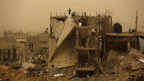 Lien hop quoc cap 1,7 trieu USD ho tro cong tac tai thiet Dai Gaza - Anh 1