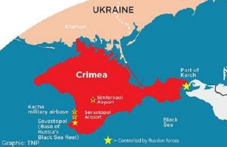 Duc: Dang canh ta san sang cong nhan Crimea la cua Nga - Anh 1