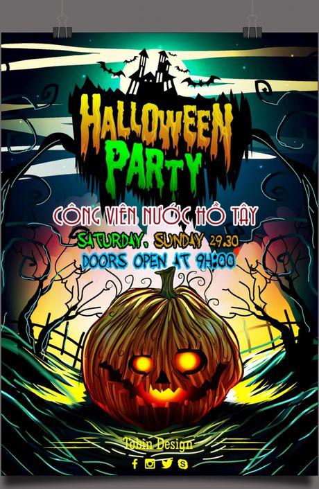 Quay het minh voi dan hot girl tai Halloween Party 2016 - Anh 1