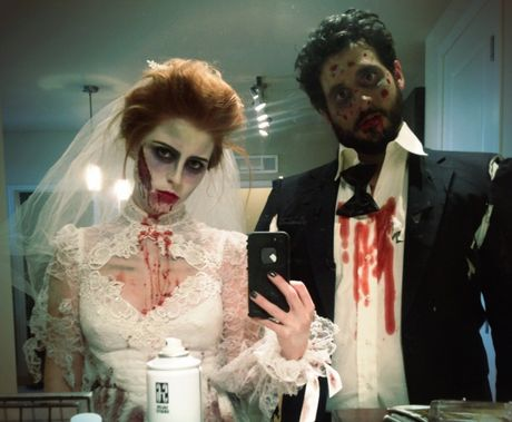 Quay het minh voi dan hot girl tai Halloween Party 2016 - Anh 4