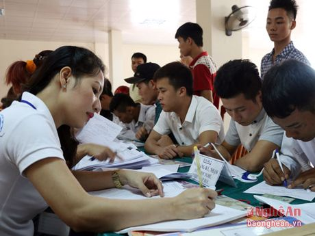 Phan dau 5% hoc sinh tot nghiep THCS chuyen huong sang hoc nghe - Anh 2