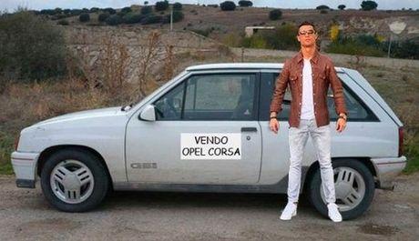 Anh che hai huoc Ronaldo voi sieu xe the thao Lamborghini Aventador - Anh 5