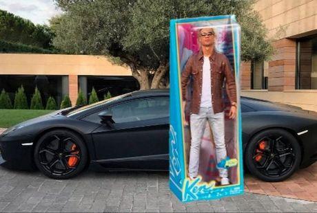 Anh che hai huoc Ronaldo voi sieu xe the thao Lamborghini Aventador - Anh 6