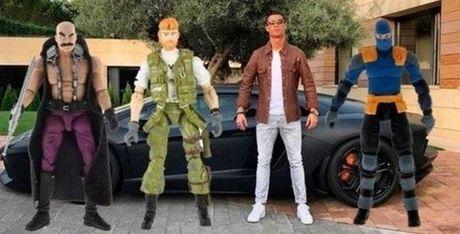 Anh che hai huoc Ronaldo voi sieu xe the thao Lamborghini Aventador - Anh 7