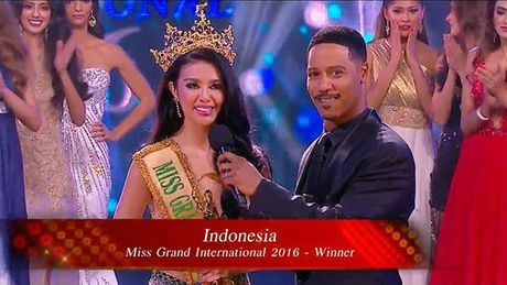 Indonesia chien thang Miss Grand International, Viet Nam se dang cai to chuc nam 2017 - Anh 1