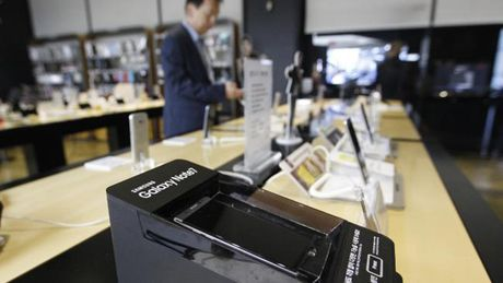 Galaxy Note 7 neu chi sac 60% pin se an toan - Anh 1