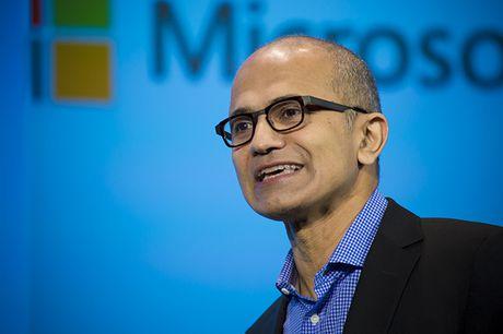 Satya Nadella dang tim cach thay doi hinh anh Microsoft - Anh 1