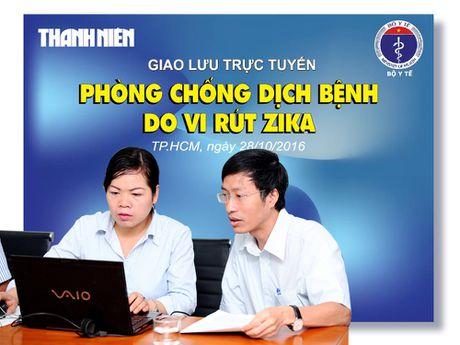 Giao luu truc tuyen: Ngan chan dich benh do vi rut zika - Anh 3
