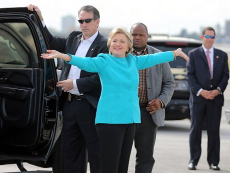 Ba Clinton mung sinh nhat 69 tuoi - Anh 1