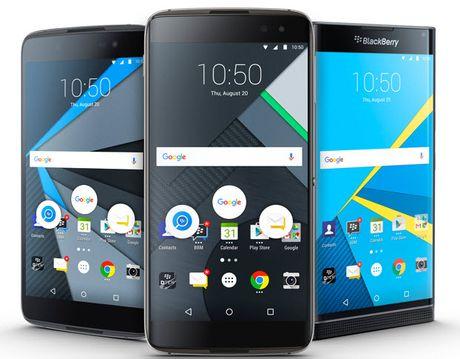 BlackBerry DTEK60 chinh thuc ra mat: Gia hon 11 trieu VND - Anh 1