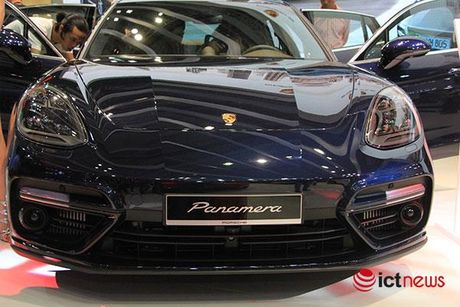 Can canh Porsche Panamera Turbo xuat hien tai Trien lam o to VIMS 2016 - Anh 6