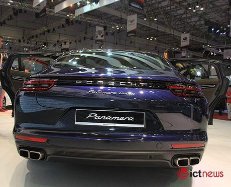 Can canh Porsche Panamera Turbo xuat hien tai Trien lam o to VIMS 2016 - Anh 9