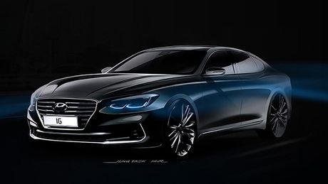 Hyundai sap ra mat Azera voi thiet ke hoan toan moi - Anh 1