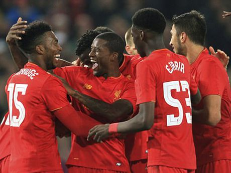 Liverpool, Arsenal cung thang o League Cup - Anh 1