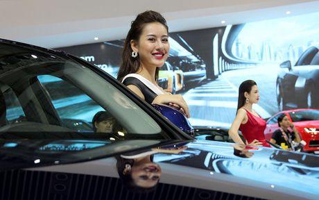 Pham Huong cung dan nguoi dep do dang tai VIMS 2016 - Anh 8