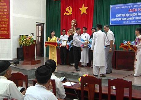Phu Yen: Phat dong Thang cao diem Vi nguoi ngheo nam 2016 - Anh 1