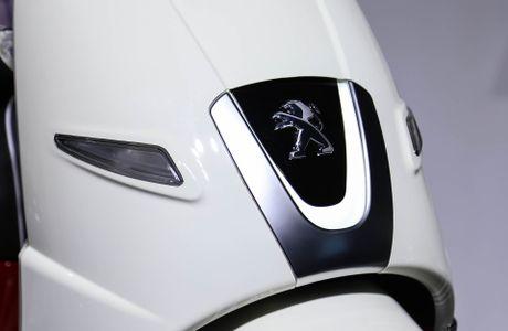 Chi tiet Peugeot Django - doi thu moi cua Vespa tai VN - Anh 9