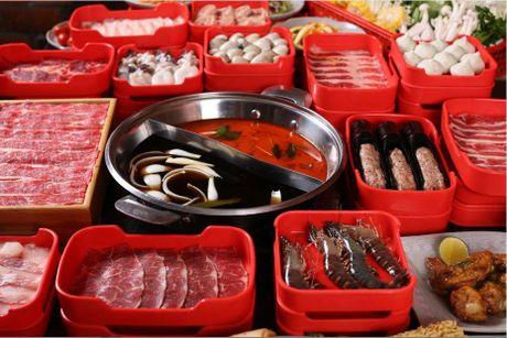 Thuong thuc buffet 5 vi nuoc lau giua long Ha Noi - Anh 2