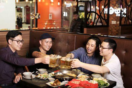 Thuong thuc buffet 5 vi nuoc lau giua long Ha Noi - Anh 3