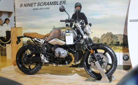 BMW RnineT Scrambler ra mat o Viet Nam voi gia 568 trieu - Anh 1