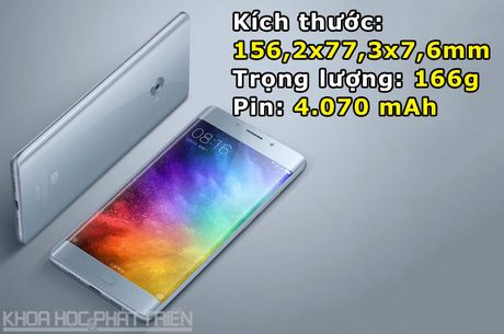 Can canh smartphone man hinh cong, RAM 6 GB cua Xiaomi - Anh 3