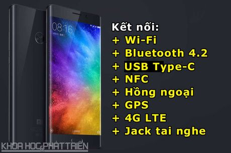 Can canh smartphone man hinh cong, RAM 6 GB cua Xiaomi - Anh 4