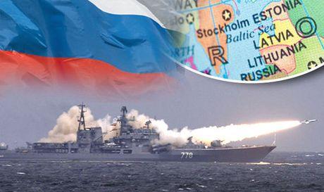 Putin dieu chien ham toi Baltic, NATO lo - Anh 1
