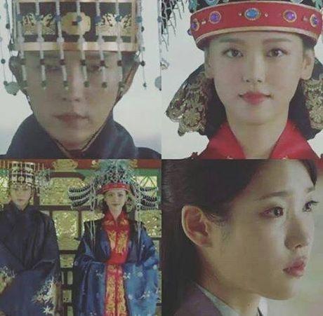 Nguoi tinh anh trang tap 18:Wang So bo mac Yeon Hwa dem dong phong - Anh 2