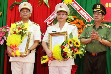 Soc Trang: Bo nhiem, luan chuyen nhieu lanh dao Cong an tinh - Anh 1
