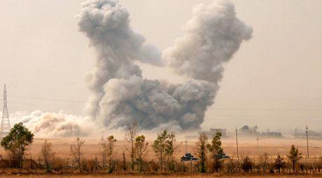 3 ngay khong kich o Mosul khien hon 60 dan thuong thiet mang - Anh 1