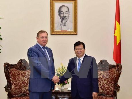 Pho Thu tuong tiep Tong giam doc Tap doan Dau khi cua Nga - Anh 1