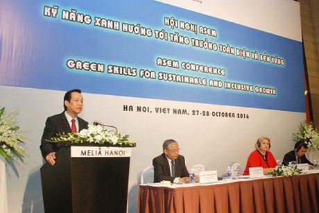 ASEM ban ve ky nang xanh huong toi tang truong ben vung - Anh 1