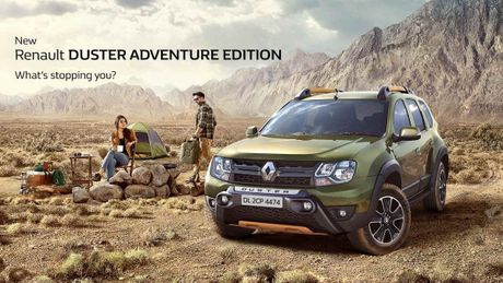 Ve 'ham ho' cua Renault Duster Adventure Edition - Anh 1
