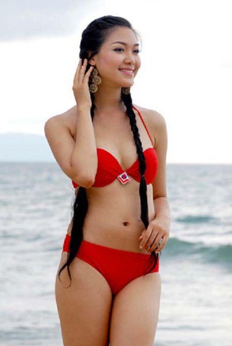 Ngam lai anh bikini cua cac hoa hau Mai Phuong Thuy, Ngoc Han - Anh 5