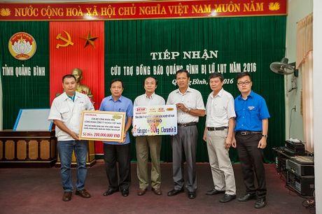 Honda Viet Nam ho tro dong bao lu lut cac tinh mien Trung 1,6 ty dong - Anh 1