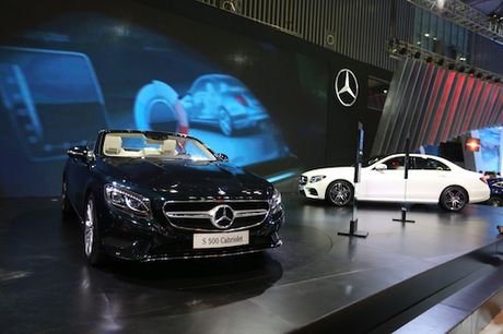 Mercedes-Benz gioi thieu loat xe tien ti tai Motoshow 2016 - Anh 2