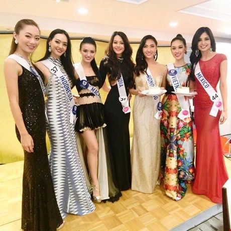 Dai dien nhan sac Viet 'truot' top 15 Hoa hau Quoc te - Anh 11