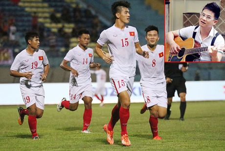 Xuat hien bai hat ca ngoi U19 Viet Nam - Anh 1