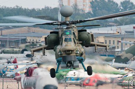 Mang ten lua moi, truc thang Mi-28NM van thua xa AH-64 Apache - Anh 1