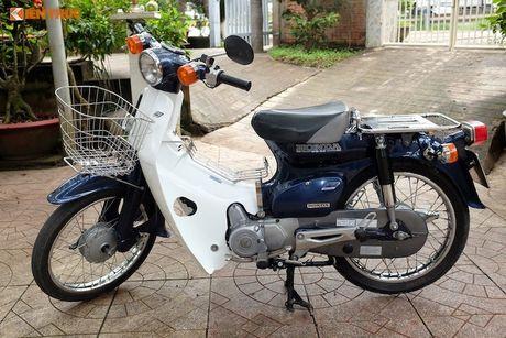 Honda Super Cub Nhat 'do zin' sieu chat tai Viet Nam - Anh 1