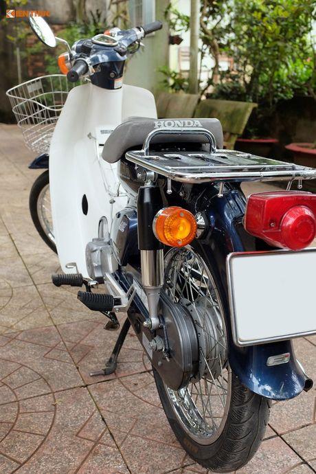 Honda Super Cub Nhat 'do zin' sieu chat tai Viet Nam - Anh 7