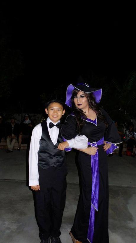 Loat nhoc ti nha sao Viet sieu de thuong dip Halloween - Anh 13