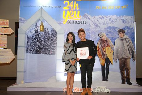 Con gai Thanh Lam tinh cam ben ban trai tai su kien - Anh 7
