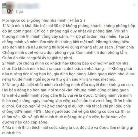 La doi co gai 8X 'lay chong quyet khong de'? - Anh 1