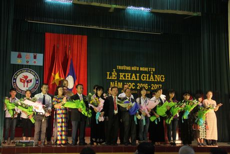 Truong Huu nghi T78 Khai giang nam hoc moi - Anh 1